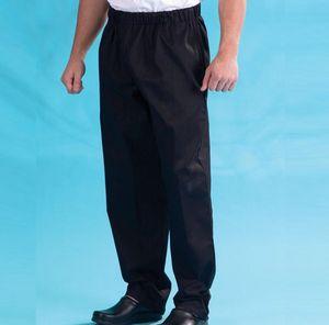 Denny's Black Elasticated Trousers